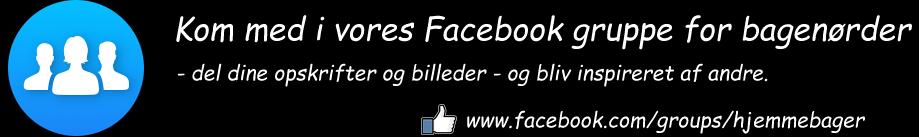 Facebook gruppe for hjemmebagere