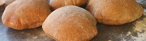 Grove pita brød